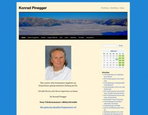 Konrad Pinegger Seminare und Workshops
